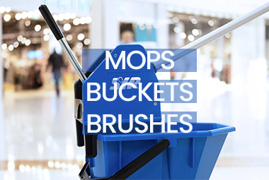 Commercial Mops, Buckets and Brushes